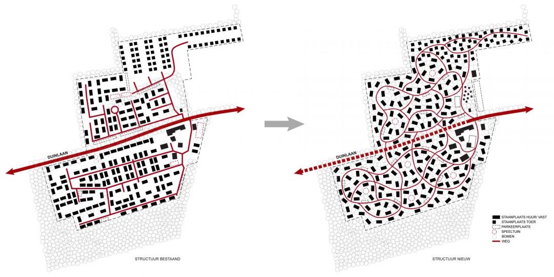 Reacreatiepark-Duinlust-concept-structuur