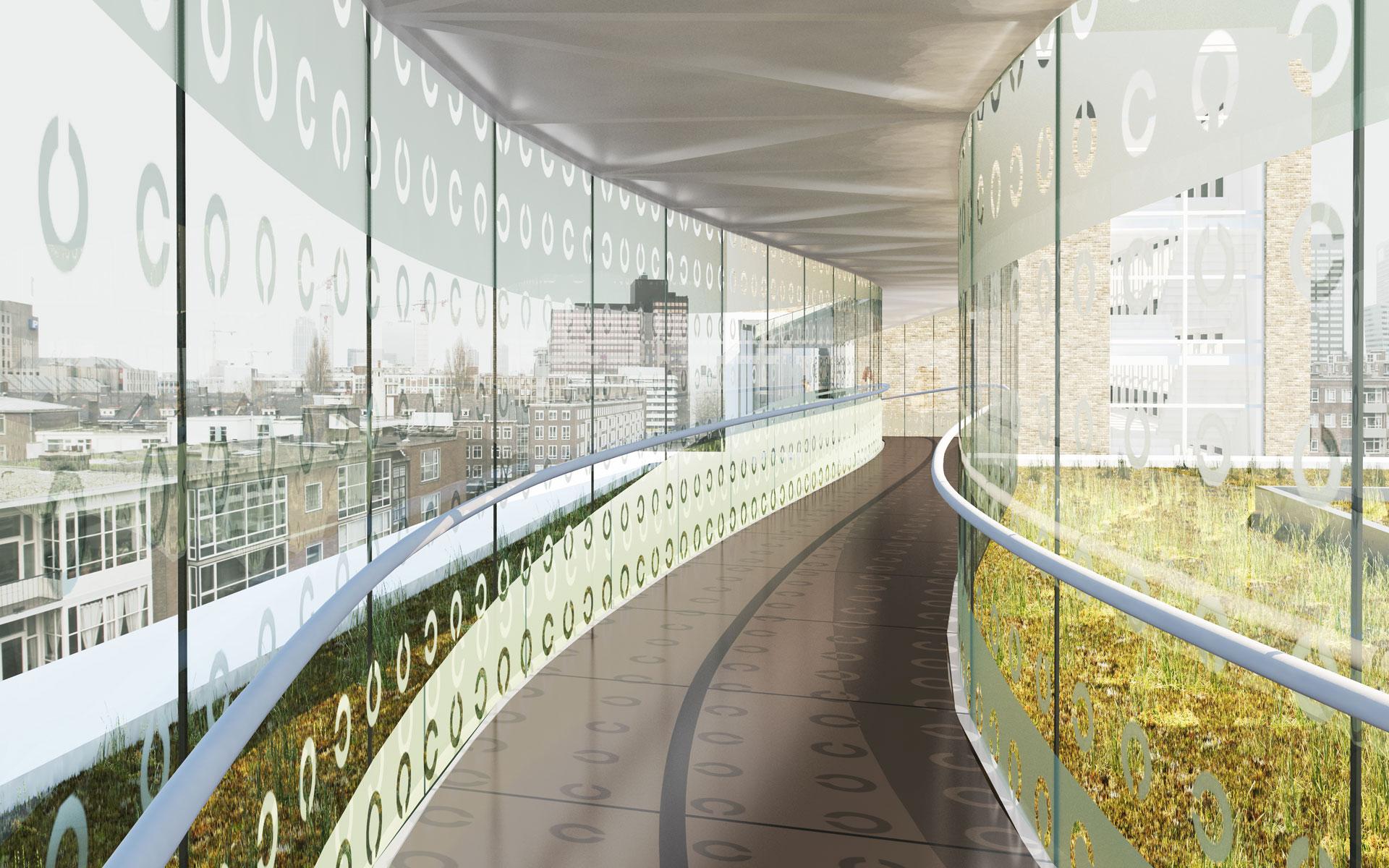 Luchtbrug Oogziekhuis Rotterdam - BINT architecten