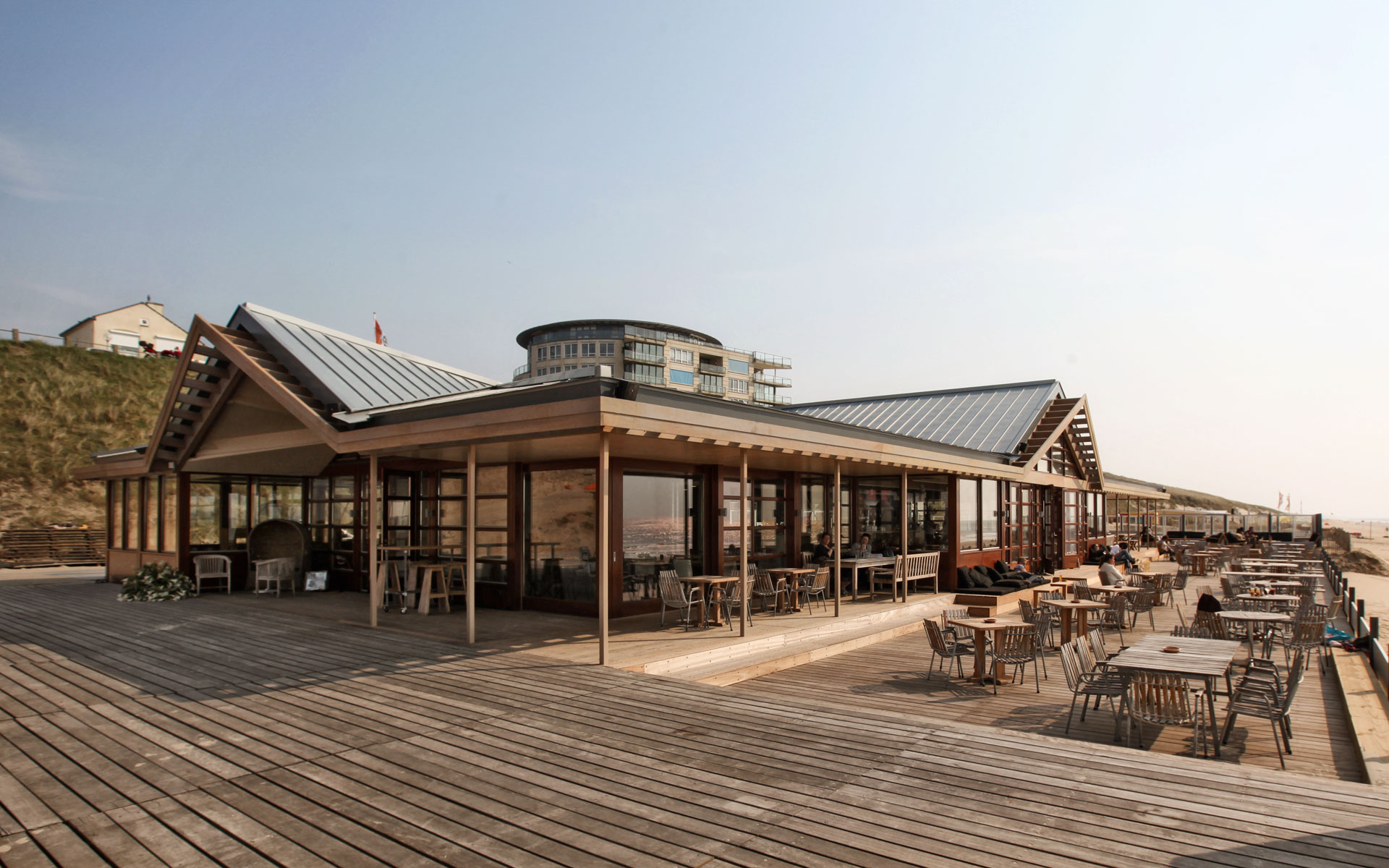 Paviljoen Tijn Akersloot Zandvoort - BINT architecten