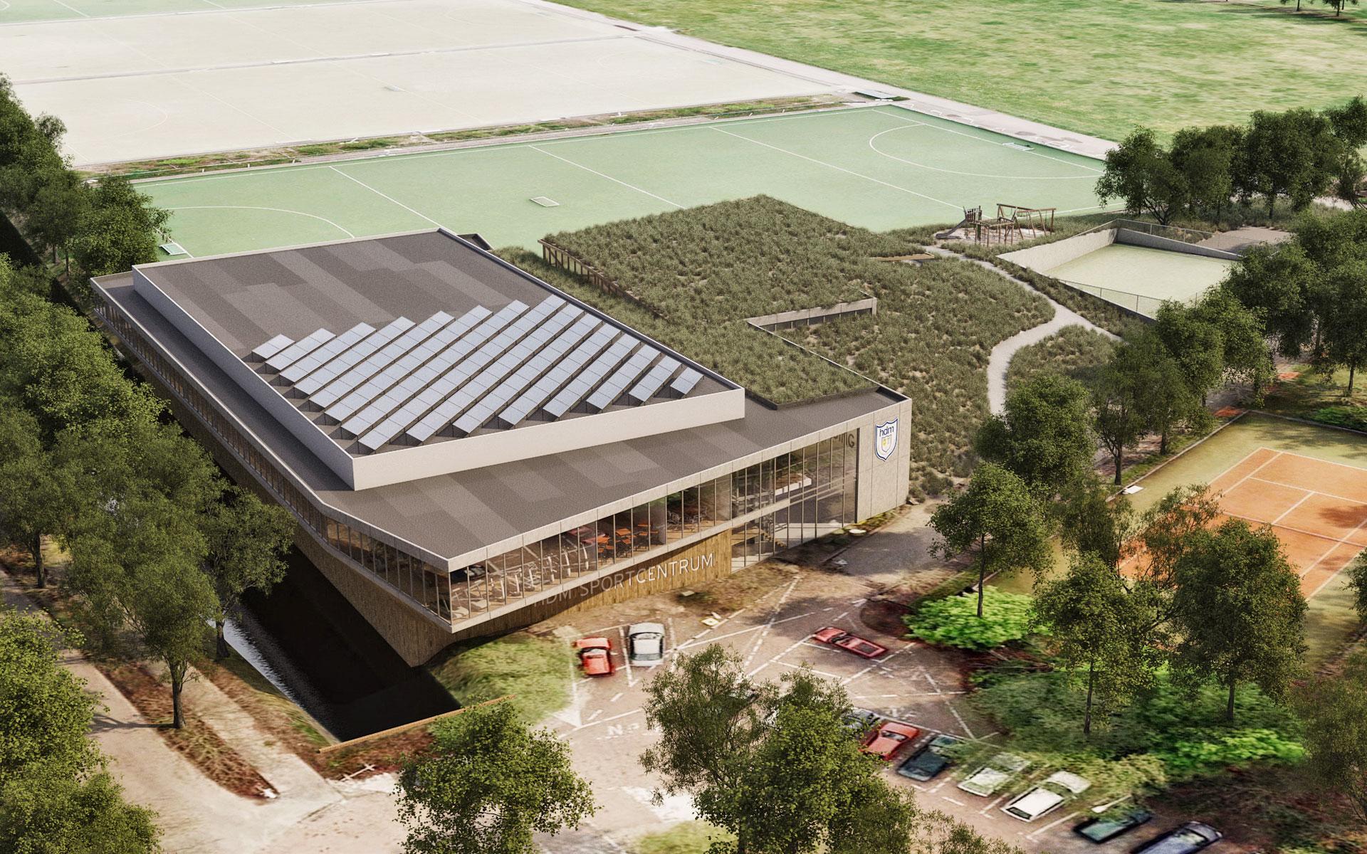 Sportcentrum HDM Den Haag - BINT architecten