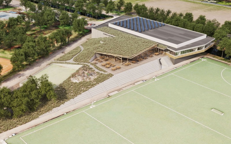 Winning design for The Hague Hockeyclub HDM