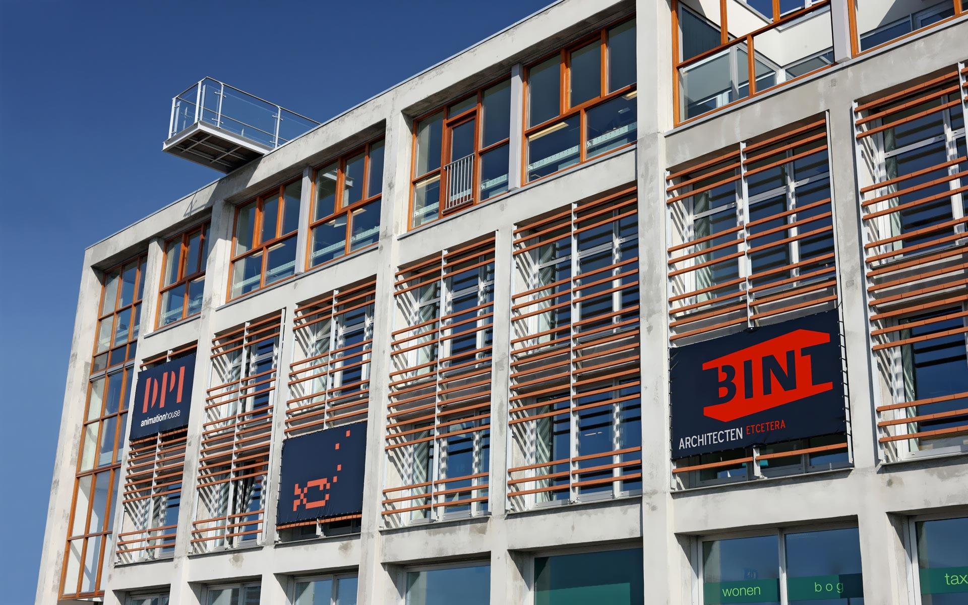 BINT architecten - Dr. Lelykade 56 Den Haag