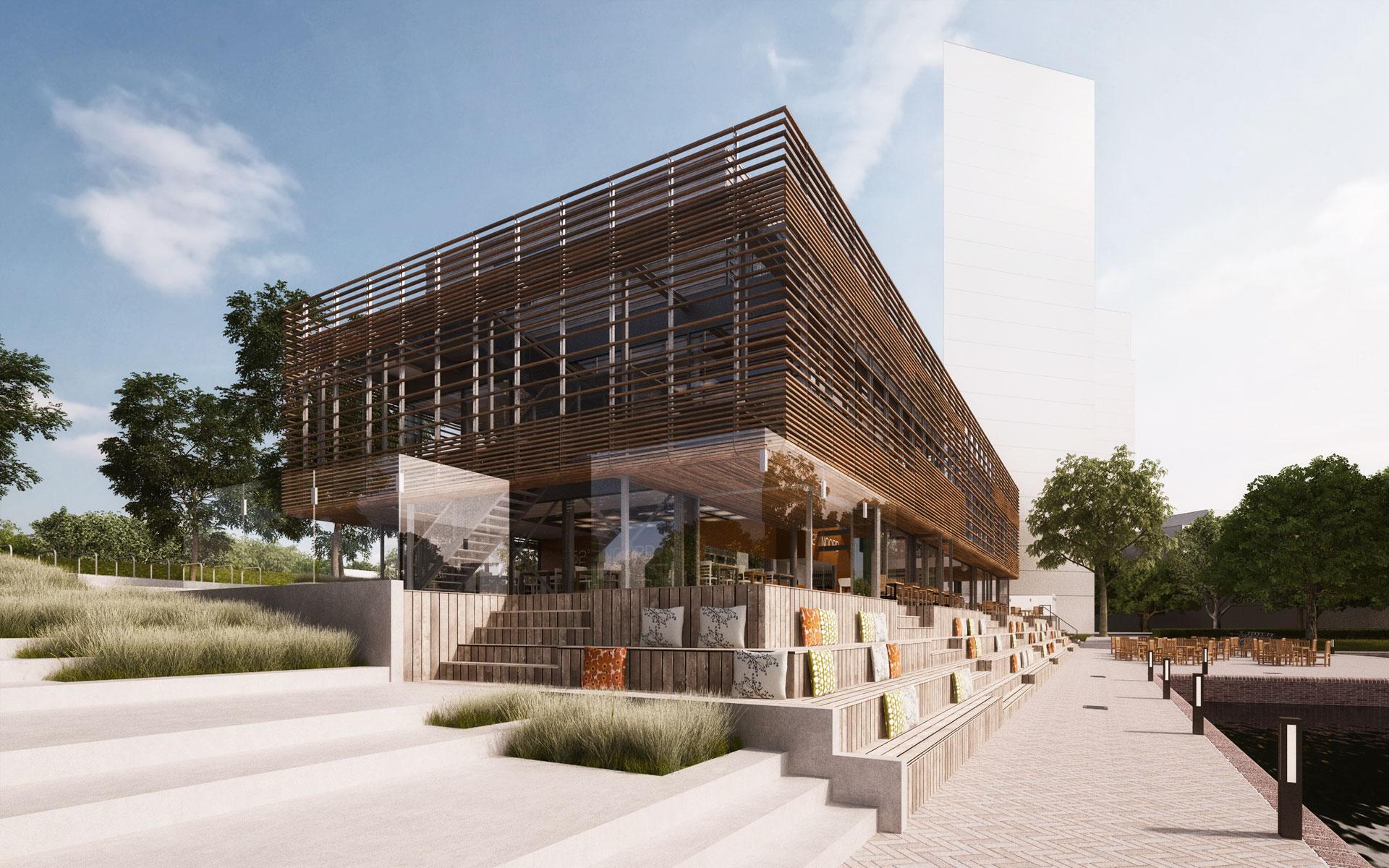 Stadshavengebouw Amstelkwartier Amsterdam - BINT architecten