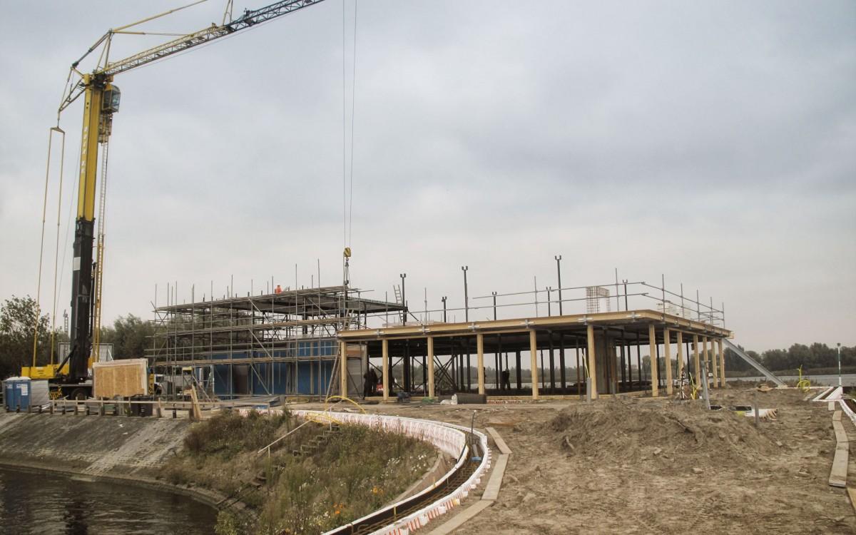 Construction progress More-Itz Drimmelen