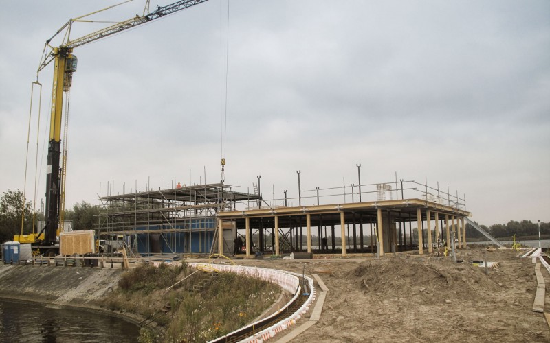 Construction progress More-Itz Drimmelen