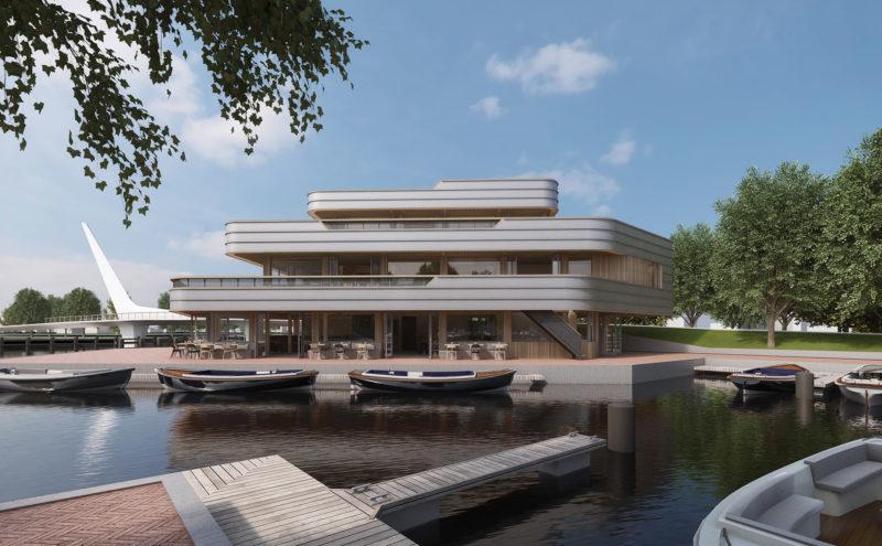 Nieuw multifunctioneel horecapaviljoen in Oegstgeest