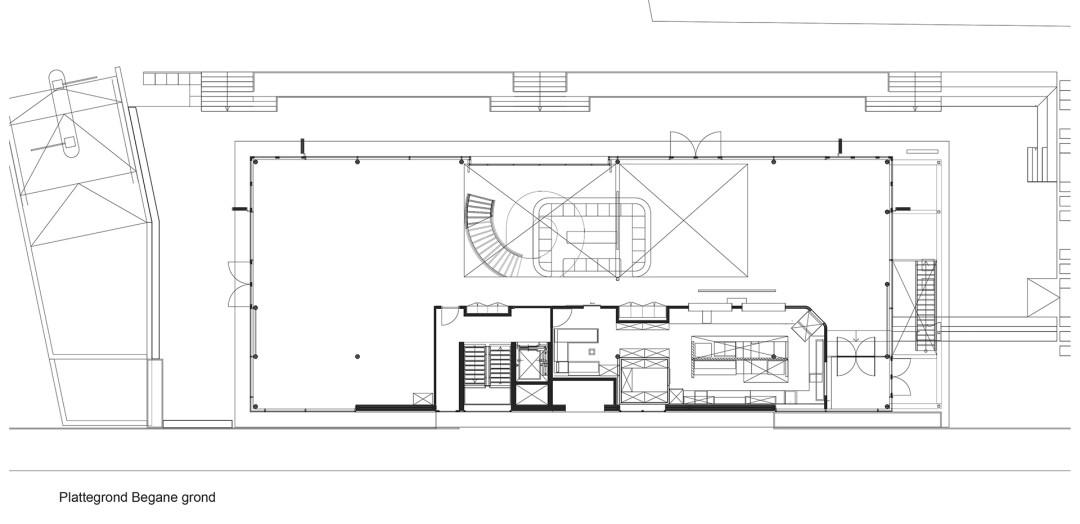 BINT - Stadshavengebouw - 99-20 - plattegrond begane grond