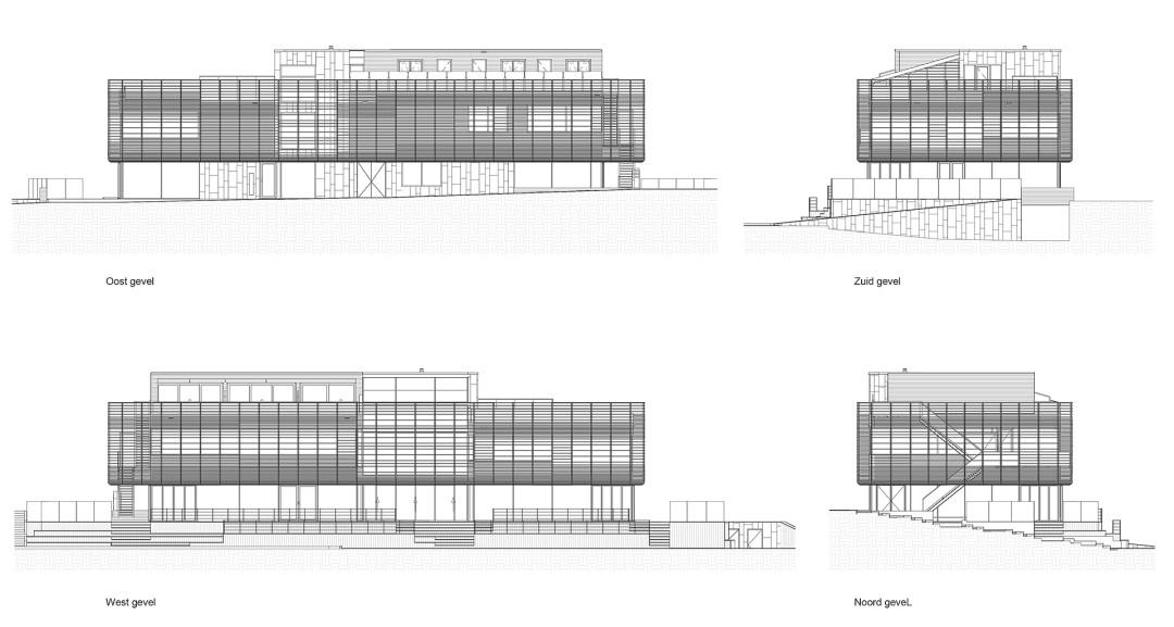 BINT - Stadshavengebouw - 99-200 - gevelaanzichten