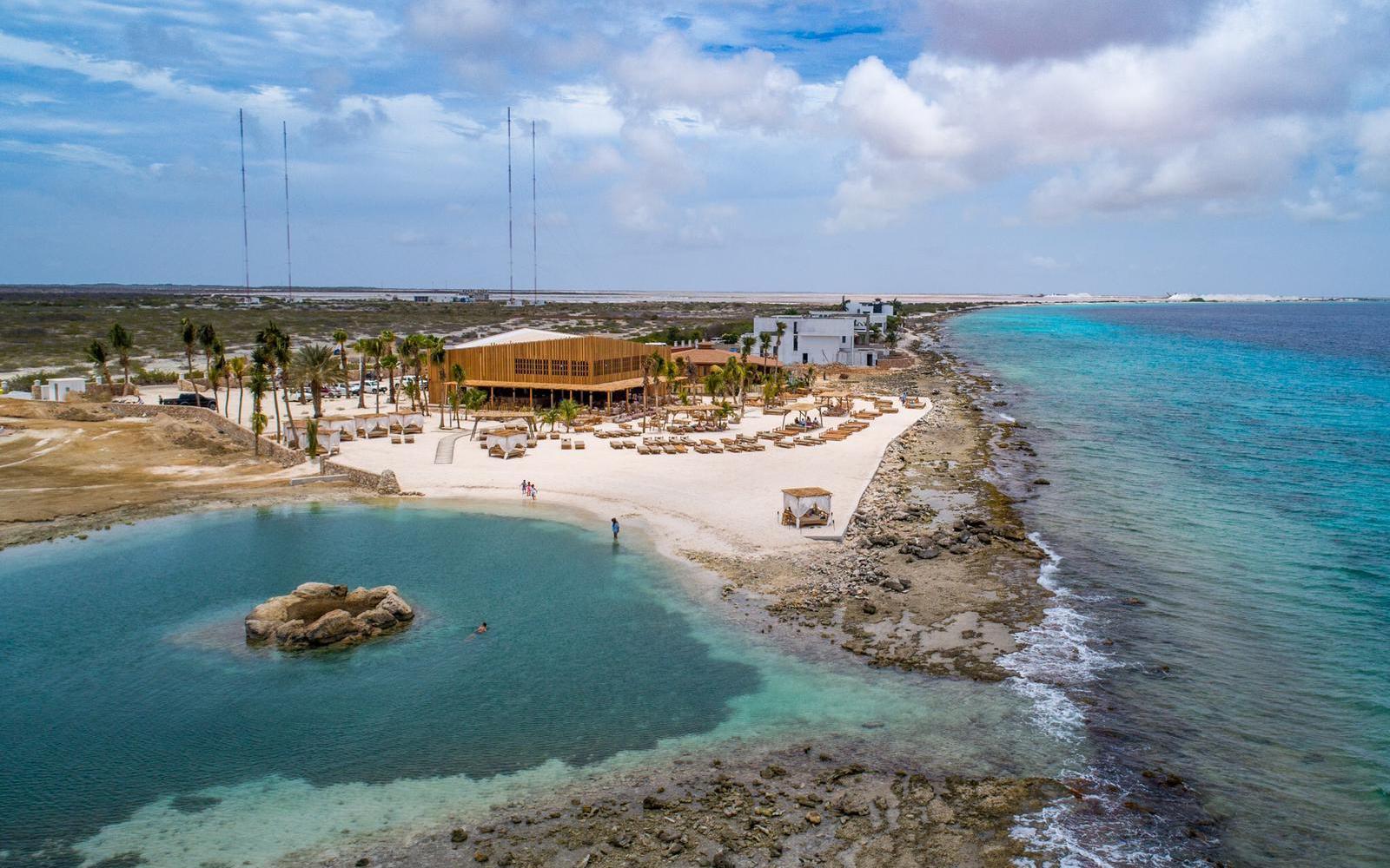 Bonaire strandpaviljoen Ocean Oasis - BINT architecten