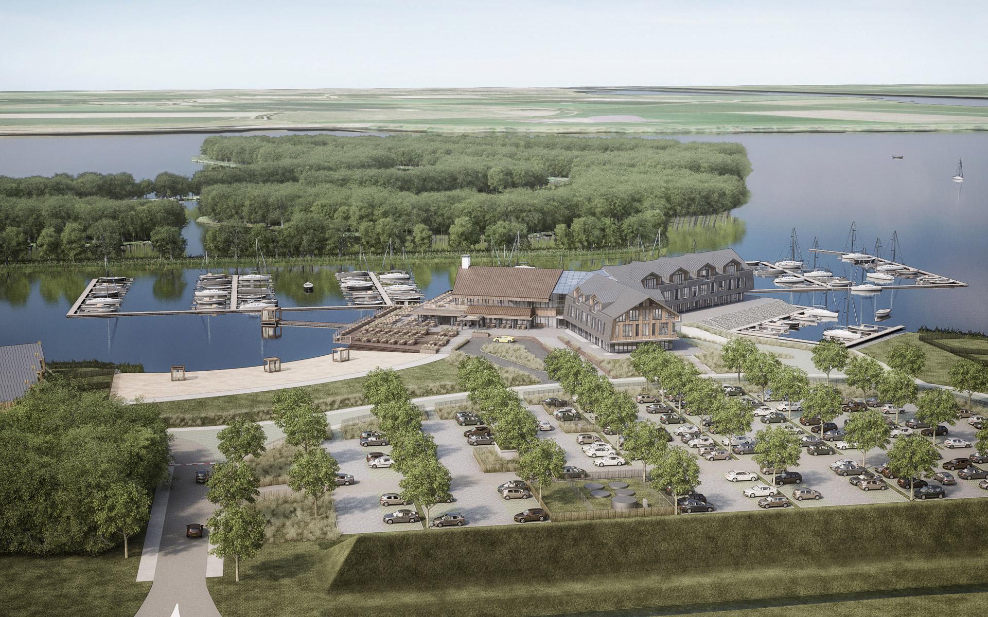 Centrumgebouw Oesterdam Resort Tholen - BINT architecten