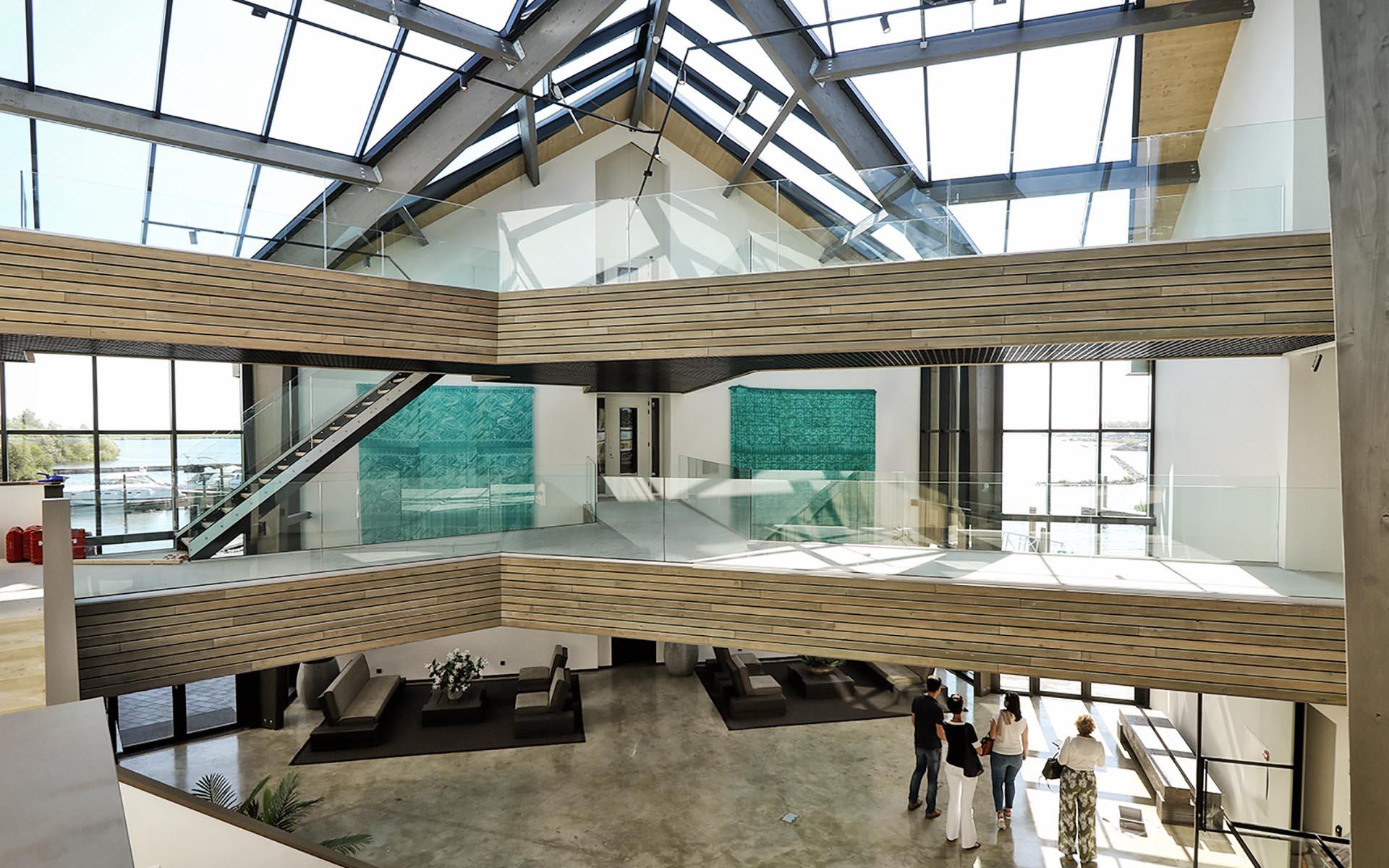 Centrumgebouw Oesterdam Resort, Tholen - BINT architecten